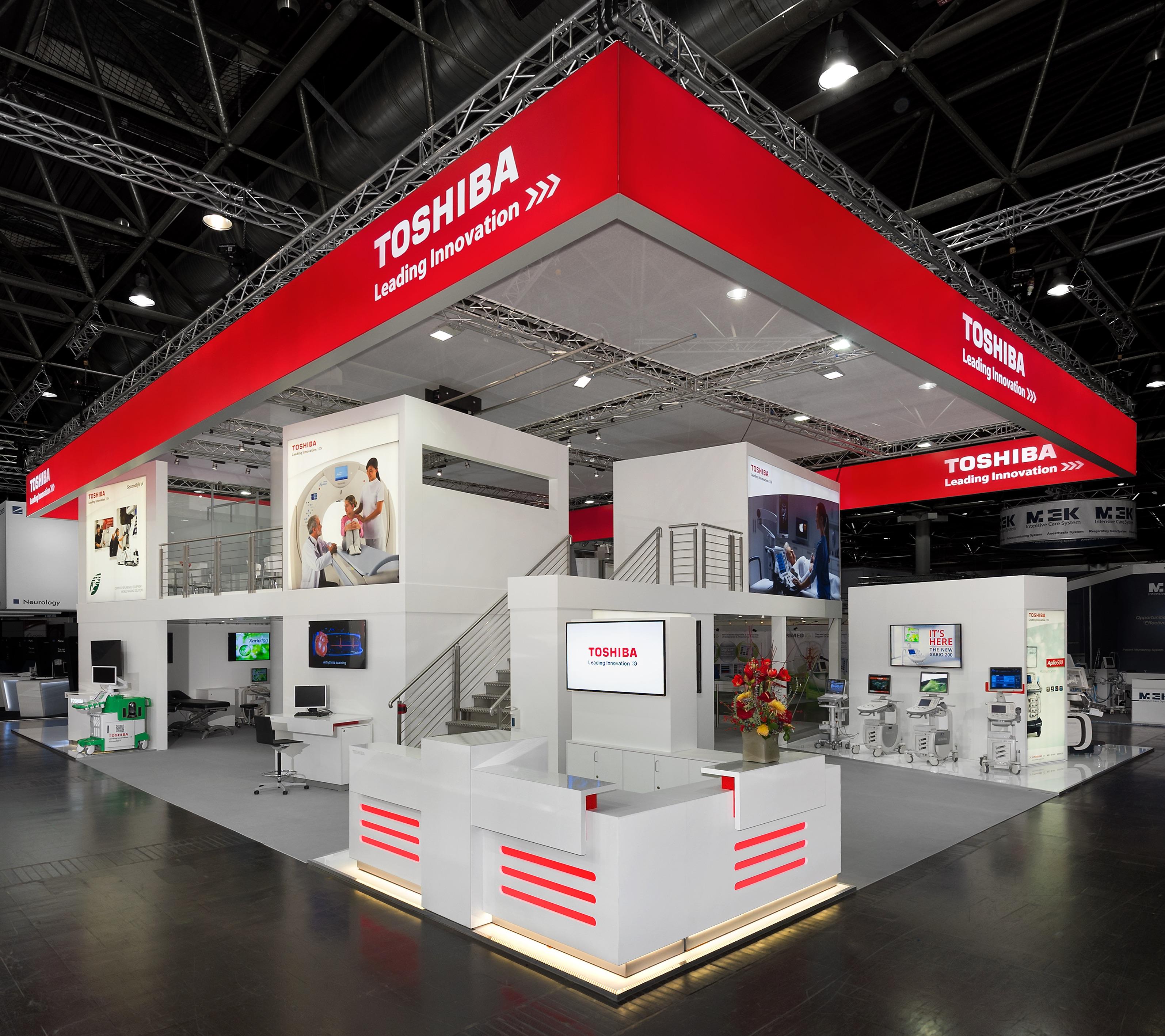 Duesseldorf Medica 2014 Toshiba
