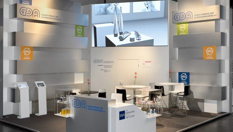 Eckstand GDA Interpack 2017, Düsseldorf 39m²
