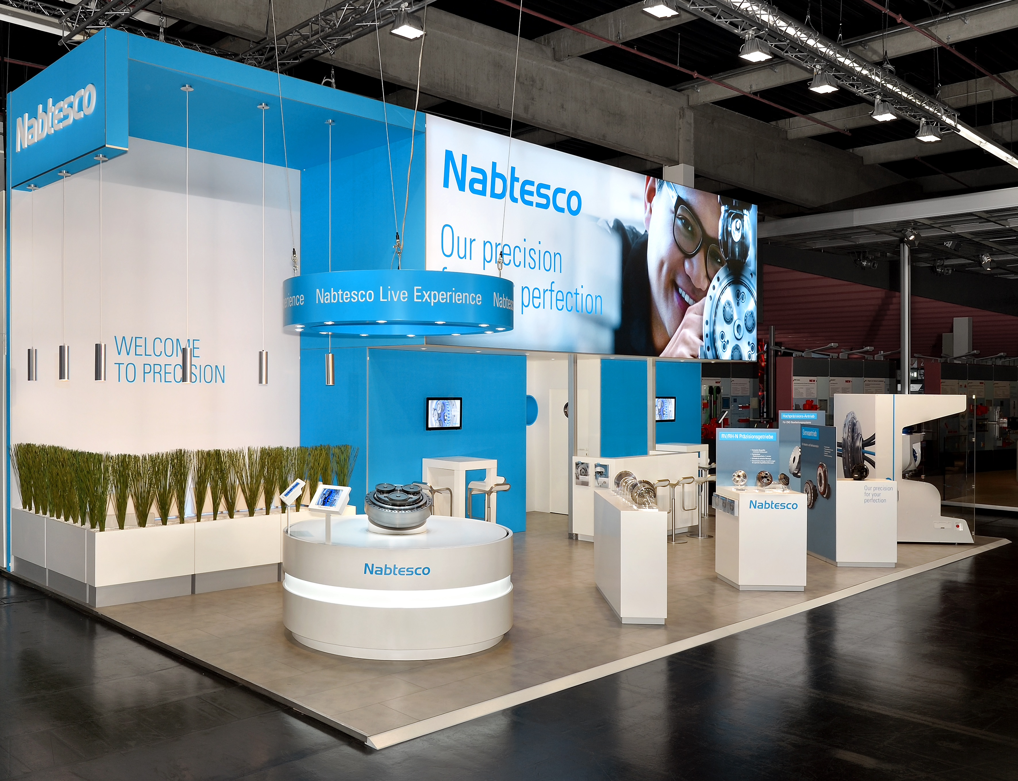 Nuernberg SPS 2015 Nabtesco